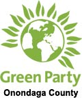 The Green Party of Onondaga County logo